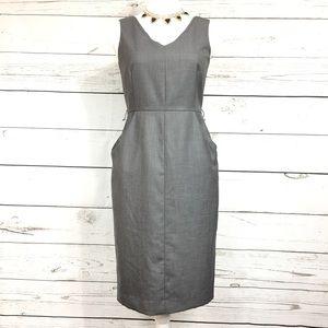Calvin Klein | Gray casual dress size 4P